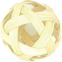 Pelota pikler de 13 cm de fibras naturales vegetales