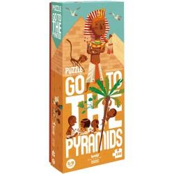 Puzle de 100 piezas Go to the Pyramids