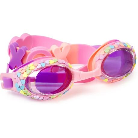 Gafas de natación CANDY HEARTS Hugs & Kisses Pink