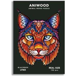 Puzle Aniwood Lince S