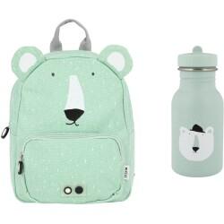 Pack mochila + botella 350 ml del oso polar