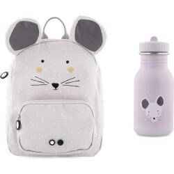 Pack mochila + botella 350 ml del ratón