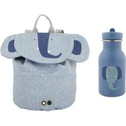 Pack mini mochila + botella 350 ml del elefante