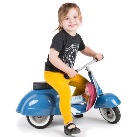 Correpasillos moto scooter PRIMO classic azul