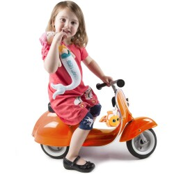 Moto scooter PRIMO classic naranja