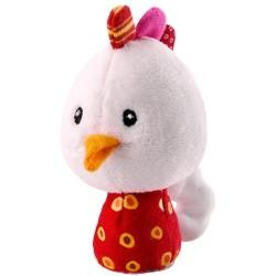 Mini sonajero de la gallina Ophélie