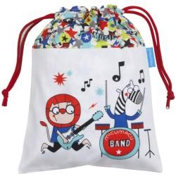 Bolsa para la merienda músicos