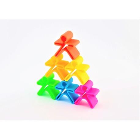 Kit de juguetes de silicona 6 muñecos