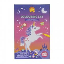 Set pinta unicornios mágicos