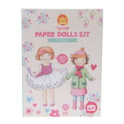 Kit de muñecas de papel vintage