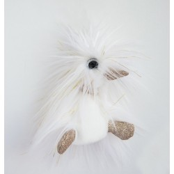 Pato de peluche blanco 18 cm (Moonlight)