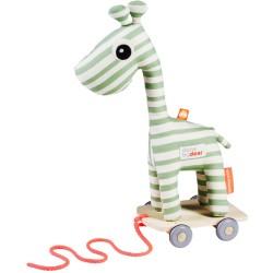 Raffi, la jirafa verde de arrastre