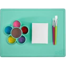 Mantel de juego infantil de silicona Play Mat mint
