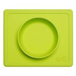 Vajilla infantil de silicona Mini Bowl lima
