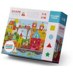 Puzle 24 piezas de formas de la ciudad