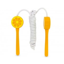Cuerda para saltar a la comba naranja