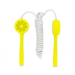 Cuerda para saltar a la comba limón