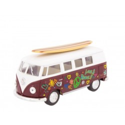 Furgoneta VW Surfboard granate