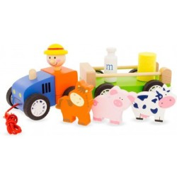 Muñeco de arrastre del tractor