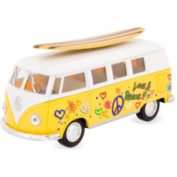 Furgoneta VW Surfboard amarilla
