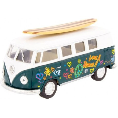Furgoneta VW Surfboard verde