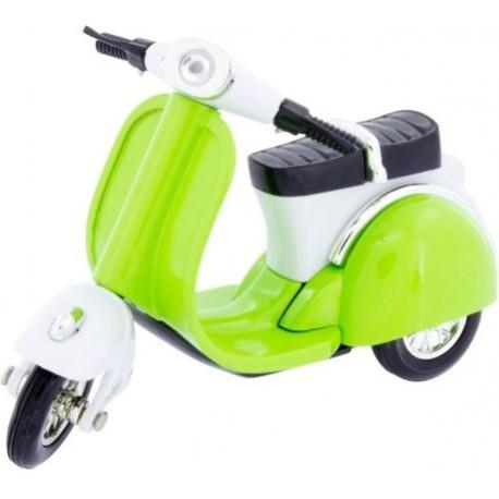 Motocicleta Scooter verde