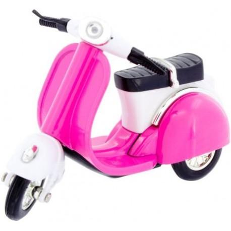 Motocicleta Scooter rosa
