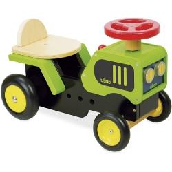 Correpasillos tractor de madera
