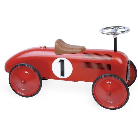 Correpasillos coche vintage rojo