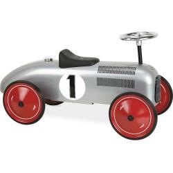 Correpasillos coche vintage gris