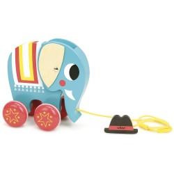Elefante de arrastre
