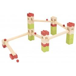 Circuito de canicas de 39 piezas