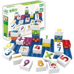 Bloques de construcción eco-friendlies de números (27 piezas)