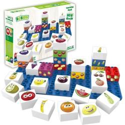 Bloques de construcción eco-friendlies de frutas (27 piezas)