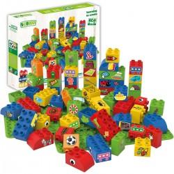 Bloques de construcción eco-friendlies de formas (60 piezas)