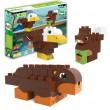 Bloques de construcción eco-friendlies animales del bosque (27 piezas)