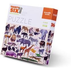 Puzle en caja 300 piezas - Animales salvajes