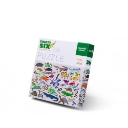 Puzle en caja 300 piezas - Reptiles y Anfibios