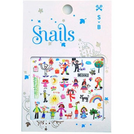 Nail Stickers - Baby Art
