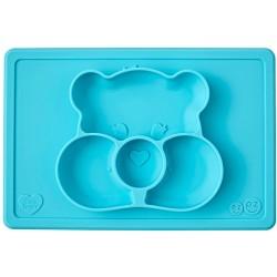 Vajilla infantil de silicona Care Bears Mat turquesa