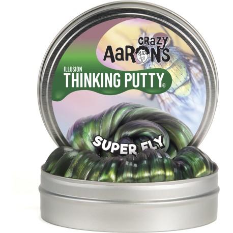 Lata de plastilina de 10 cm - Illusions - Super Fly