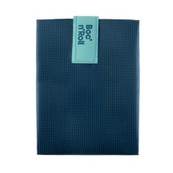 Porta bocadillos Boc'n'Roll Square Azul