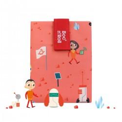 Porta bocadillos Boc'n'Roll Kids Space (naranja)