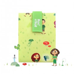 Porta bocadillos Boc'n'Roll Kids Forest (verde)
