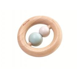 Sonajero de madera con forma de anillo