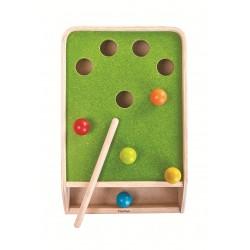 Mesa de puntería y bolas