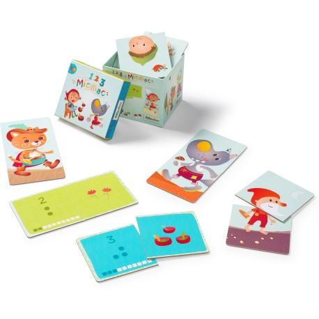 123 Mic Mac cartas para contar (Smart Wonders) (123 Mic Mac Counting Cards SW)