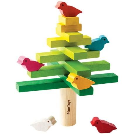 Árbol de equilibrio de madera