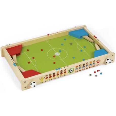 Flipper futbolín de madera