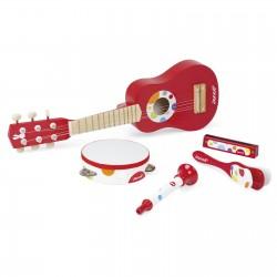 Set de instrumentos musicales de madera